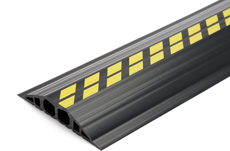 EHA 46022 Industriekabelbrücken, schwarz gelb, 1,5 m - Set, 200mm breit, 35mm hoch B00W5PMA4W   Lass unsere Waren in die Welt gehen