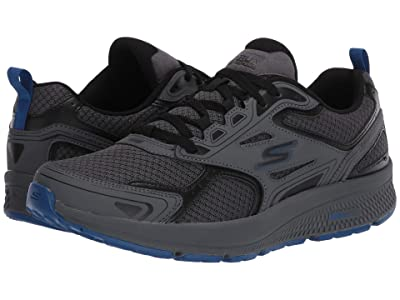 SKECHERS Go Run Consistent (Charcoal/Blue) Men