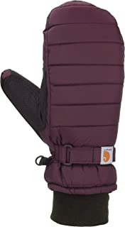 Women's Quilts Insulated Breathable Mitt with Waterproof Wicking Insert