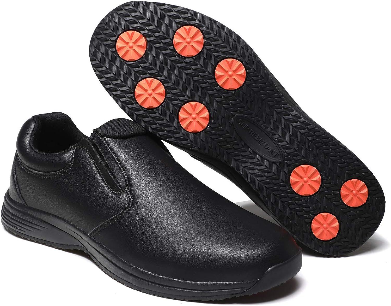 DXINZHI Men's Quality inspection Slip Resistant Work Tucson Mall Pro Shoes Food - Service