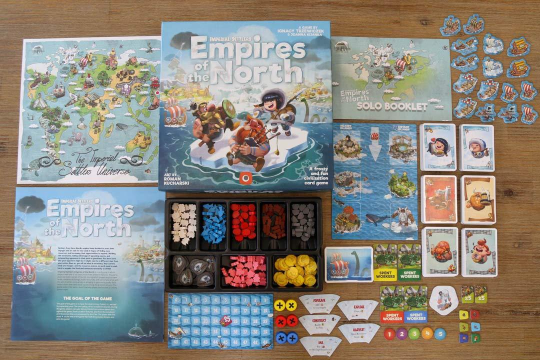 Portal Games Imperial Settlers: Empires of The North: Amazon.es: Juguetes y juegos