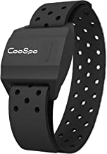 CooSpo Bluetooth & ANT+ Heart Rate Monitor Armband Optical HRM Sensor Waterproof IPX7 Fitness Tracker Armband Compatible w...
