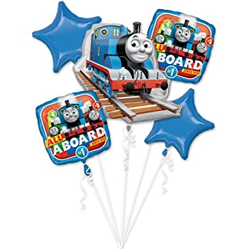 18 Anagram International Thomas and Friends Foil Balloon Pack Multicolor 18 2373501.0