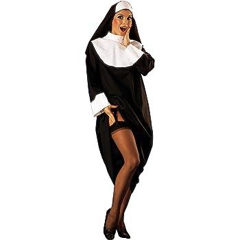 César - Disfraz de monja sexy con hábito para mujer (adulto ...