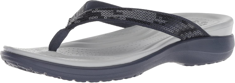 Crocs Women's Capri V Sequin W Flip-Flop