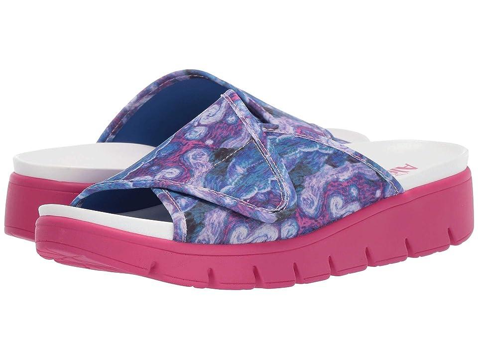 Image of Alegria Airie (Monet Multi) Women's Slide Shoes