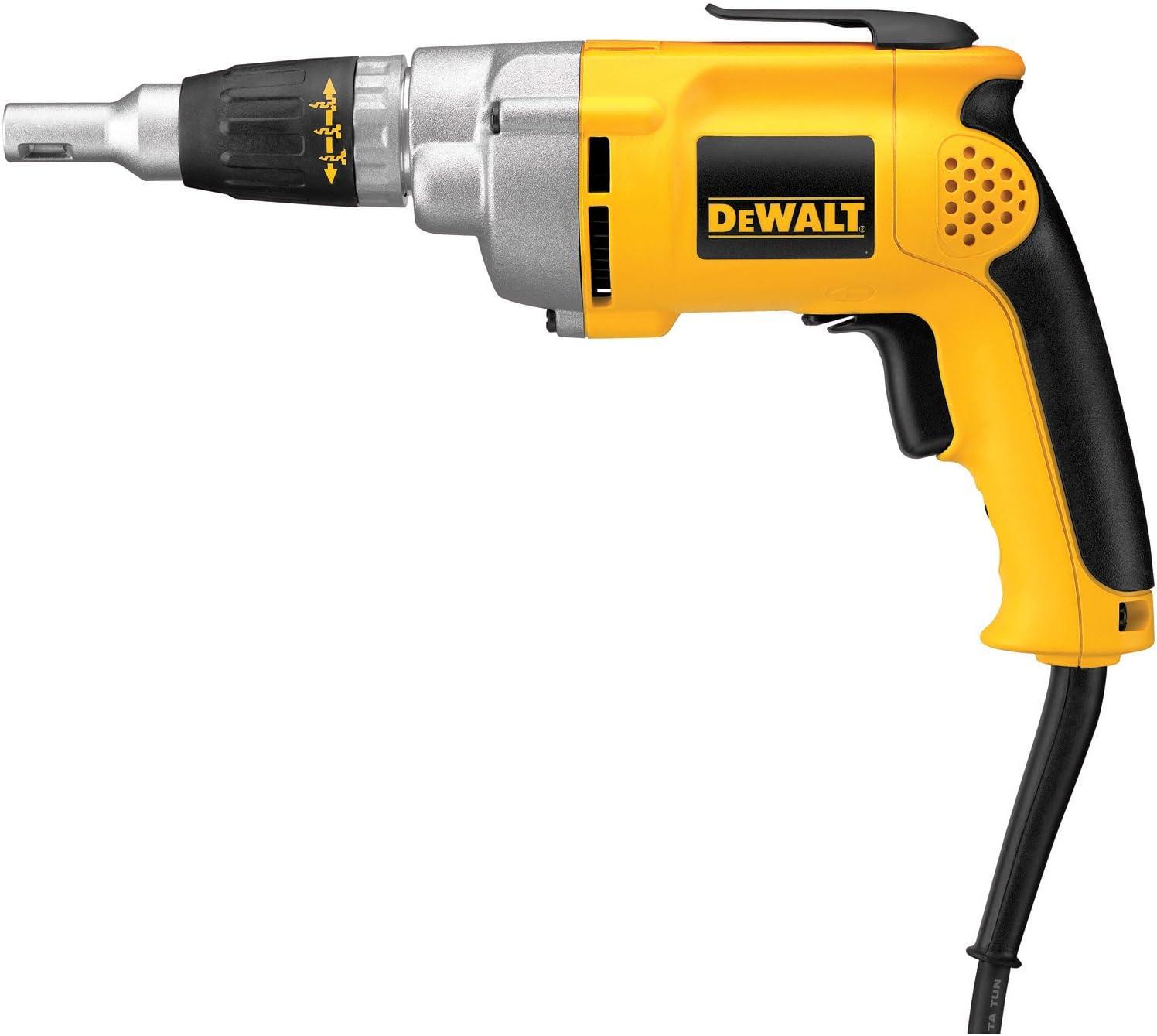 Dewalt Drywall Screw Gun DW276 Variable Speed Reversible, 6.5-Amp