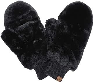 Best black fuzzy mittens Reviews