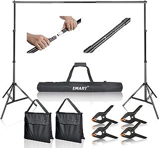 Emart Photo Video Studio 10Ft Adjustable Background Stand...