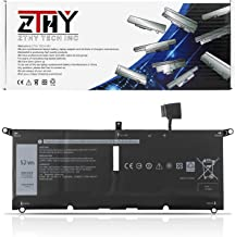 ZTHY 52Wh DXGH8 Laptop Battery for Dell XPS 13 9370 9380 Inspiron 13 7390 7391 2-in-1 5390 5391 7490 Latitude 3301 E3301 V...