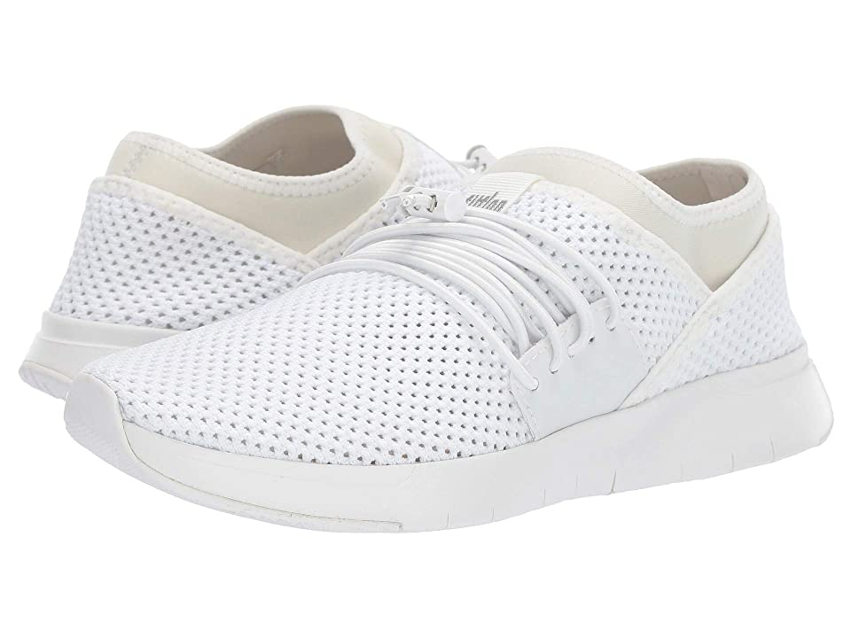 d7ba401c35d FitFlop Air Mesh Lace-Up (Urban White White) Women s Shoes