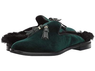 Sperry Seaport Levy Tassel Fur Mule (Green) Women