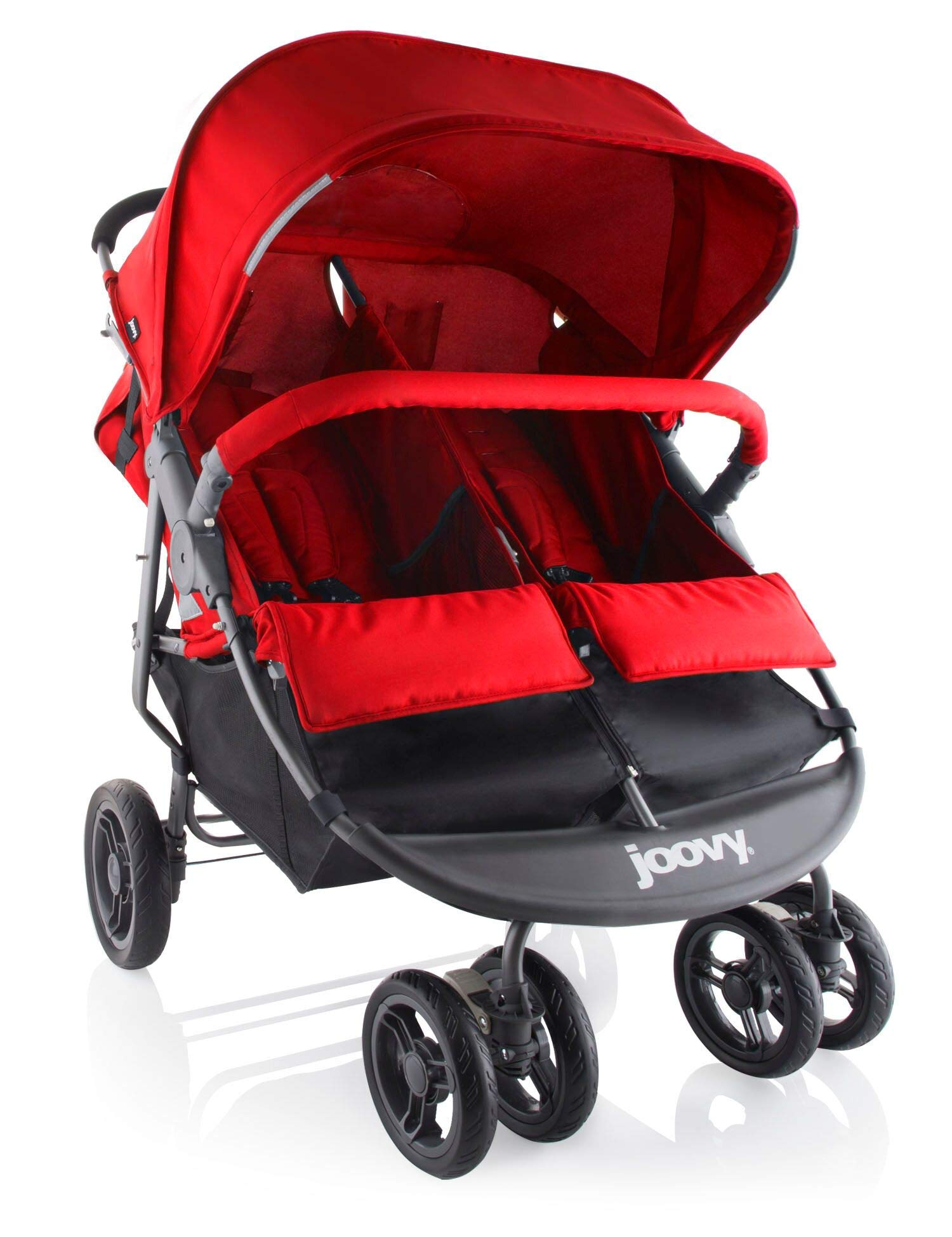 Joovy Scooter Double Stroller Red
