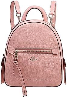 Coach F30530 SV/ET Andi Backpack Crossbody Handbag in Pebble Leather - Petal