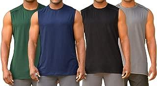 Colosseum Mens Performance Sleeveless Tee Shirt