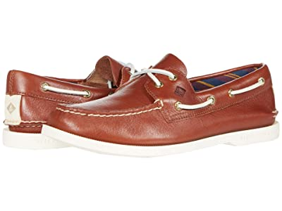 Sperry Authentic Original Plushwave Leather (Tan) Women
