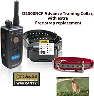 Dogtra D2300NCP Advance Training Collar, with Extra Strap Replacement