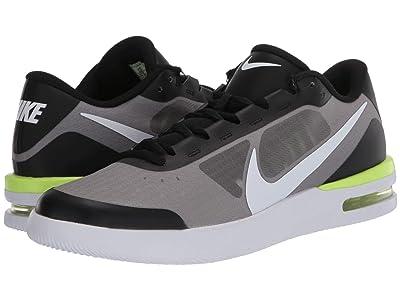 Nike NikeCourt Air Max Vapor Wing MS (Black/White/Volt) Men