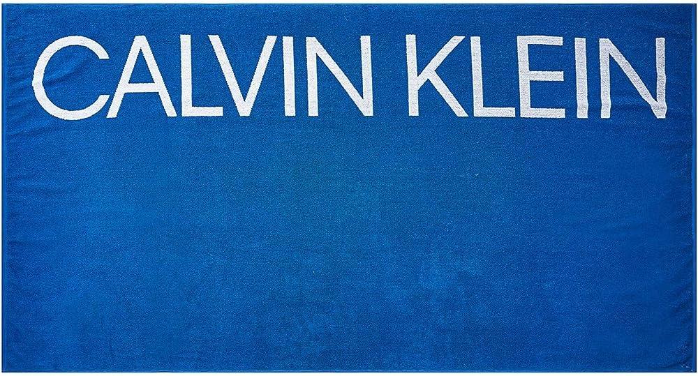 Calvin klein telo mare o piscina 100 % spugna di cotone cm.170x90 KU0KU00077