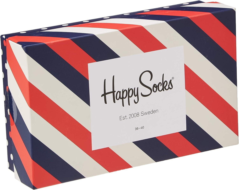 Happy Socks Men's Classic Stripe Gift Box (3 Pairs)