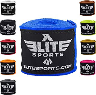 Elite Sports Professional Boxing, Kickboxing, Muay Thai, MMA Hand Wraps 180 Inches