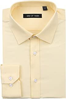 Colourful Mens Business Casual Premium Plus Size Button Down Shirt 16 2XL