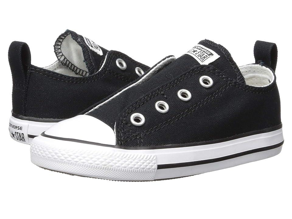 Converse Kids Chuck Taylor(r) All Star(r) Core Slip (Infant/Toddler) (Black) Kids Shoes