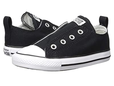 Converse Kids Chuck Taylor(r) All Star(r) Core Slip (Infant/Toddler) (Black) Kids Shoes