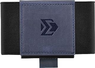 Minimalist Slim Wallet For Men Women - Elastic Front Pocket Credit Card Holder Wallet