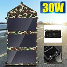 Folding 25W Solar Panels 5V Waterproof Sun Power Solar Cells Charger Double USB Output Devices Portable for Smartphones