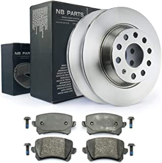 Bremsen/Bremsscheiben + Bremsbeläge hinten NB PARTS GERMANY 10041788