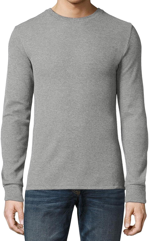 Ma Croix Premium Mens Thermal T Shirts Waffle Pattern Heavyweight Longsleeve Soft Big Tall Active Cotton Knit