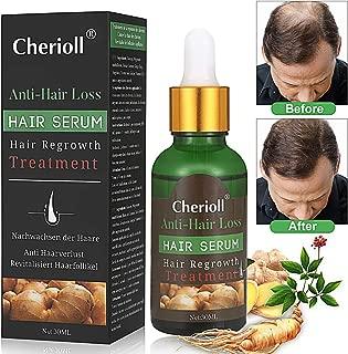 Hair Growth Serum, Hair Loss and Hair Thinning Treatment, Stops Hair Loss, Thinning, Balding, Repairs Hair Follicles, Promotes Thicker, Stronger Hair and New Hair Growth