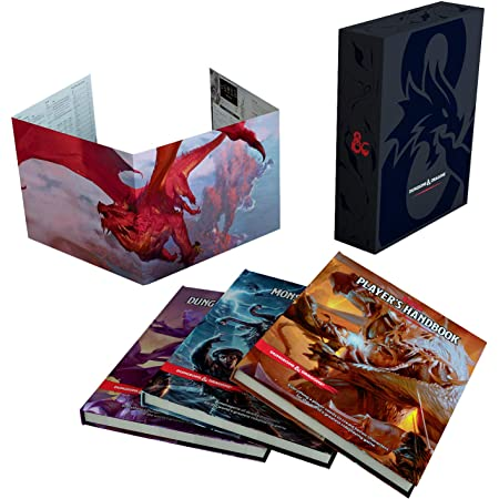 Dungeons & Dragons- Set Regalo, FEA31ECD4 [Inglese]