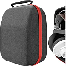 Geekria UltraShell Headphone Case for AKG Q701, K712 Pro, K701, K702, K340, K240 MKII, K242, K271, K272, K141, K812, K872, K845BT, N90Q Full Size Hard Shell Large Carrying Case, Headset Travel Bag