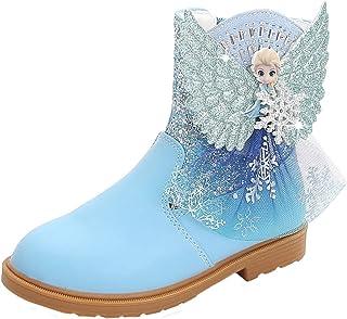 LOBTY filles ballerine princesse chaussures à talons hauts bottes bottes de vacances de noël mariage hiver Festival pour e...