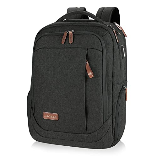 7f2a4d890b10 KROSER Laptop Backpack Large Computer Backpack for 15.6-17.3 Inch Laptop  with USB Charging Port