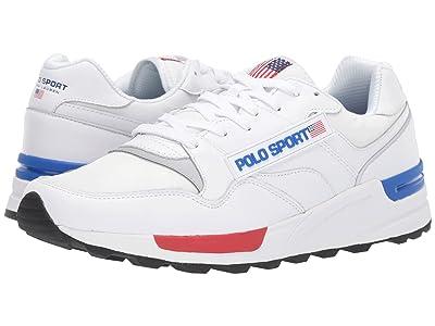 Polo Ralph Lauren Trackstar 100 (White) Men