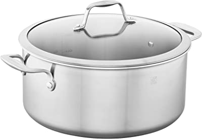ZWILLING Spirit 3-ply 8-qt Stainless Steel Stock Pot - Best Zwilling Stainless Steel Cookware