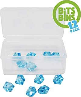 """Board Game Pieces Storage Containers, Organizes Meeples, Dice, Tokens, Cards to Fit Inside the Board Game, Includes 12 BitsBins Original Measures 3.125 """" X 2.25"""" X 1.25"""""""