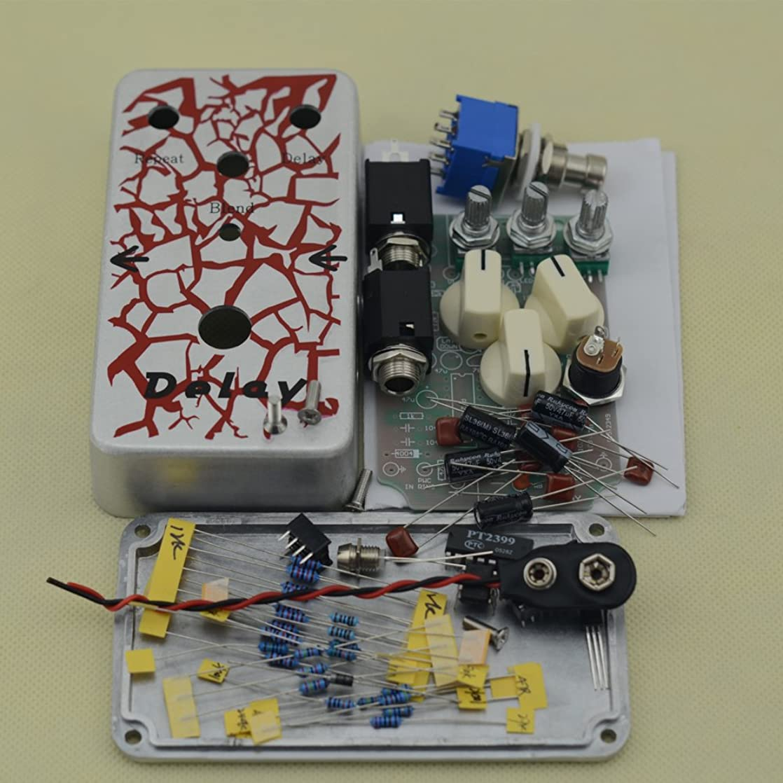 Make Your Own Delay Professional Guitar Effects Pedal All Kits With 1590B nxpzkakr60241