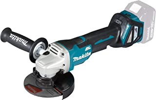Makita DGA515Z Cordless Angle Grinder 18 V with Paddle Switch Battery, Without Charger