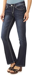Women's Juniors Basic Legendary Stretch Bootcut Denim Jeans