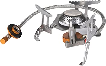 EL INDIO Camping Gas stove, Backpack Stove, with Convenient Piezo Ignition, Durable & Portable Burner with Carrying Case (3500W)