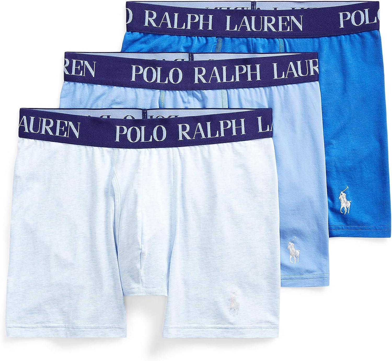 POLO RALPH LAUREN 4D-Flex Lightweight 3-Pack High material Boxer Briefs Sacramento Mall