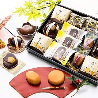 [創味菓庵] 和菓子 ゼリー まんじゅう 季節の詰合せ しょうとうか 中 5種 13個 国産 [包装紙済] 送料無料