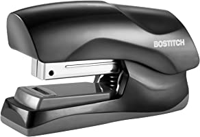 Bostitch Office Heavy Duty 40 Sheet Stapler, Small Stapler Size, Fits into the Palm of Your Hand; Black (B175-BLK)