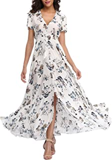 long white boho maxi dress