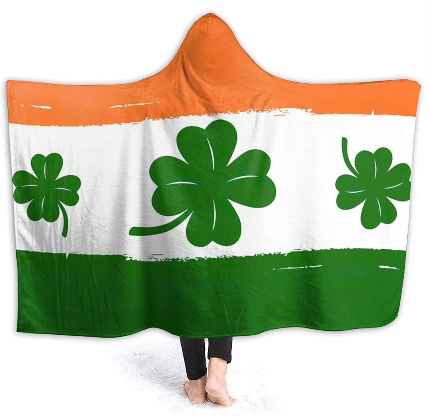 Saint Patrick's Directly managed store Day Our shop OFFers the best service Flag Hooded Conditioning Air Blanket