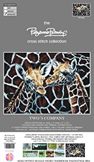 Pollyanna Pickering Two's Company Counted Cross Stitch Kit-13.75